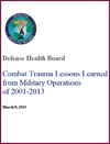 Combat Trauma Lessons Learned from Military Operations cover